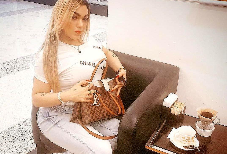 Modelo Trans Rafaela Bellucci