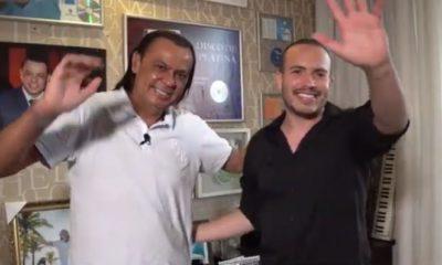 Junior Pacheco e Frank Aguiar - Foto: Reprodução YouTube